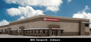 Comfortworks - Comfortworks installed geothermal technology in MHC Kenworth in Ardmore, Oklahoma.
