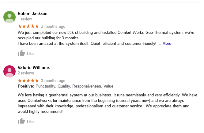 comfort-works-google-reviews